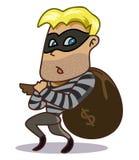 Kryminalny złodziej Zdjęcie Royalty Free
