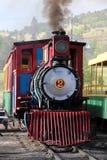 Krymplingliten vik och Victor Narrow Gauge Railroad royaltyfri bild