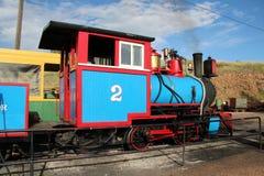 Krymplingliten vik och Victor Narrow Gauge Railroad arkivfoto