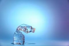 Krympt vattenflaska Fotografering för Bildbyråer