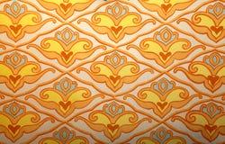 Krymski tatar kolorowy ornament ściany tło Zdjęcie Stock