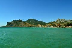 Krymski wybrzeże zdjęcie royalty free