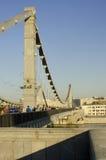 Krymsky-Brücke oder Krimbrücke, Moskau, Russland Lizenzfreies Stockbild