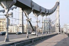 Krymsky Bridge Stock Photography