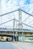 The Krymsky Bridge Royalty Free Stock Photography