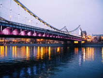 Krymsky bridge Stock Photos