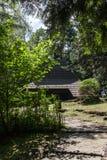Krynica Gorska Gora Parkowa - colina del parque Fotos de archivo