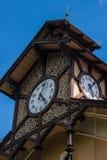 Krynica Gorska park i molo Zdjęcie Royalty Free