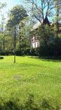 Krynica-Zdrà ³ j, de Parel van Poolse Kuuroorden, health spa toevlucht in Polen royalty-vrije stock foto's