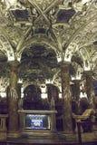 Krypta Coro Jemale unter Mailand-Duomo-Kathedrale Stockfotografie