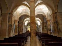 Krypta der Kirche von San Zeno in Verona, Italien stockbild