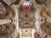 Krypta Liebfrauen kościół w odważniaku, Niemcy Zdjęcia Royalty Free