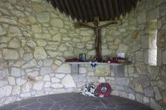 Krypta am Monument der 84 tötete amerikanische Kriegsgefangene Lizenzfreie Stockbilder
