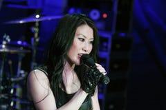 KRYPTERIA - Cantante Ji-En Fotografía de archivo libre de regalías