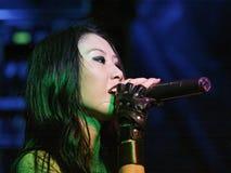 KRYPTERIA - Cantante Ji-En Foto de archivo