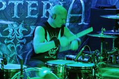 KRYPTERIA - Drummer  Royalty Free Stock Images
