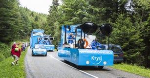 Krys有蓬卡车 免版税库存图片