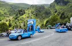 Krys Caravan- Tour de France 2014 Stock Photo