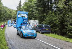 Krys Caravan - Tour de France 2014 Stock Photo