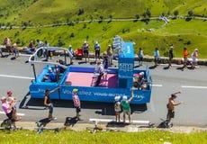 Krys Vehicle - Ronde van Frankrijk 2014 royalty-vrije stock afbeeldingen