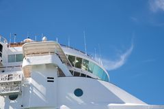 Kryssa omkring eyelinerDisney magi på Key West, Florida Royaltyfri Foto