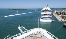 Kryssa omkring till Key West Arkivfoton