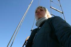 kryssa omkring yachten Fotografering för Bildbyråer