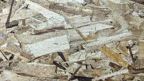 Kryssfaner som göras med stora wood chiper stock illustrationer