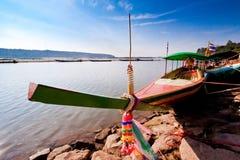 Kryssning för flodfartyg Royaltyfri Bild