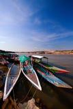 Kryssning för flodfartyg Royaltyfri Foto