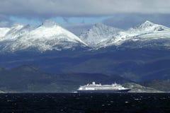 Kryssning i patagonia Royaltyfri Foto