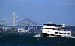 Kryssning San Francisco Bay Royaltyfri Fotografi