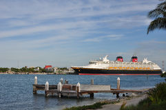 kryssningdisney ship Royaltyfri Fotografi