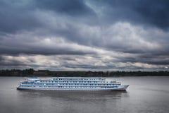 Kryssningfartyg Royaltyfri Fotografi