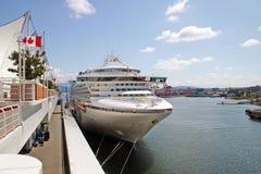 kryssninghamnship Royaltyfri Bild