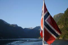 kryssninghardangerfjord norway Royaltyfria Foton