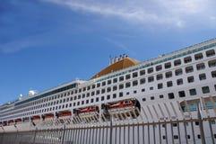 kryssningportship Royaltyfria Foton