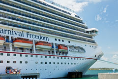 KryssningShip i Key West Fotografering för Bildbyråer