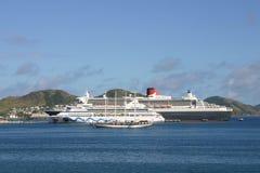 kryssningships Royaltyfri Foto