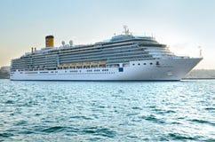 Kryssningskepp Costa Deliziosa Arkivfoto