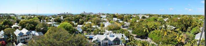 Kryssningskepp i Key West Florida Fotografering för Bildbyråer