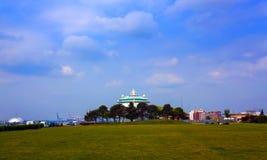Kryssningskepp i Southampton, England Fotografering för Bildbyråer