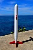 Kryssningsrobot som uppåt siktar Royaltyfri Fotografi