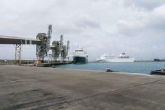 Kryssningterminal i Bridgetown, Barbados Royaltyfria Bilder