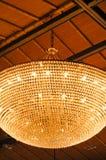 Krystaliczna breloczek lampa zdjęcia stock