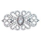 Krystaliczna broszka Fotografia Royalty Free