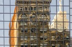 Krystaliczna fasada Obrazy Stock
