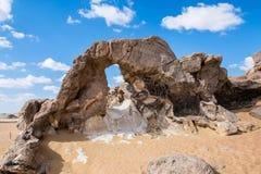 Krystaliczna góra w Egipt zdjęcie stock