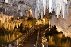 Krystaliczna jama Bermuda zdjęcia stock