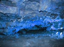 Krystaliczna jama horyzontalna Zdjęcie Royalty Free